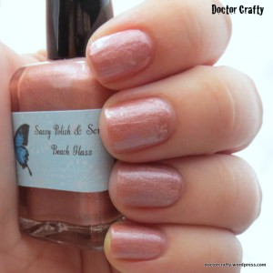 Sassy Polish & Scrubs Beach Glass nail polish swatch