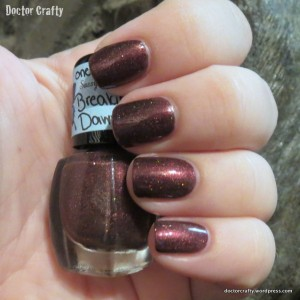 Sassy Polish & Scrubs Breaking Dawn nail polish swatch