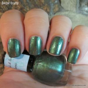 Sassy Polish & Scrubs Huntress nail polish swatch