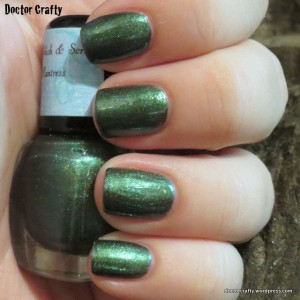 Sassy Polish & Scrubs Huntress nail polish swatch