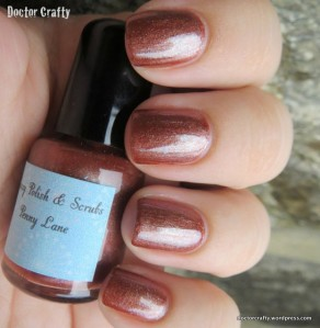 Sassy Polish & Scrubs Penny Lane nail polish swatch