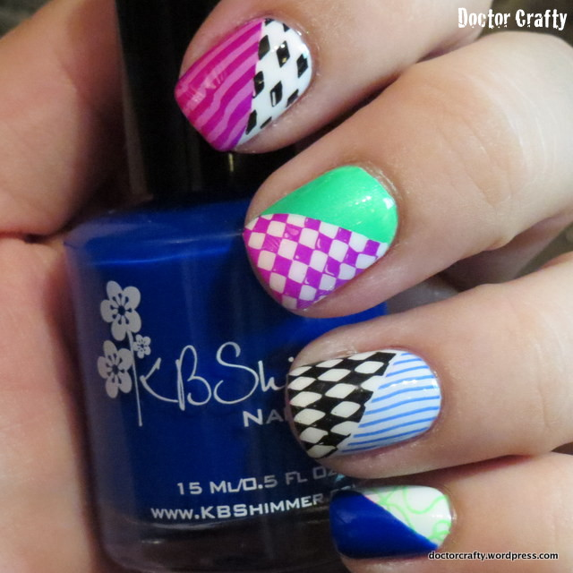 mad hatter manicure | Doctor Crafty