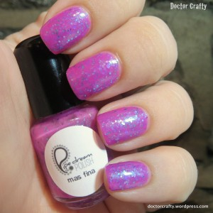 pipe dream polish mas fina nail polish swatch