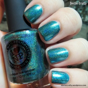 i love nail polish rehab holographic nail polish swatch holo humpday