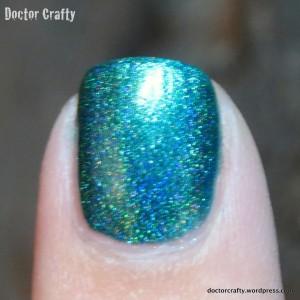 i love nail polish rehab holographic nail polish swatch holo humpday