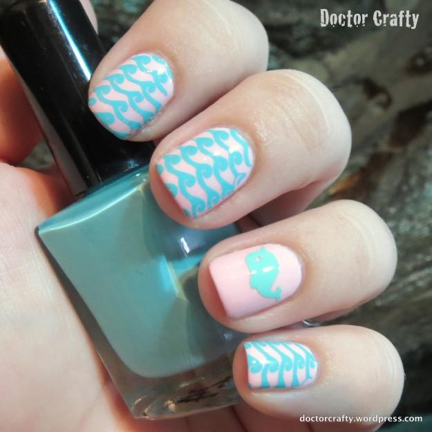 narwal nail decals moyou london suki waves nail stamping art lacquer by lissa essie mundo de unas