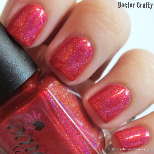 Slightly different lighting - check out that holo flame!