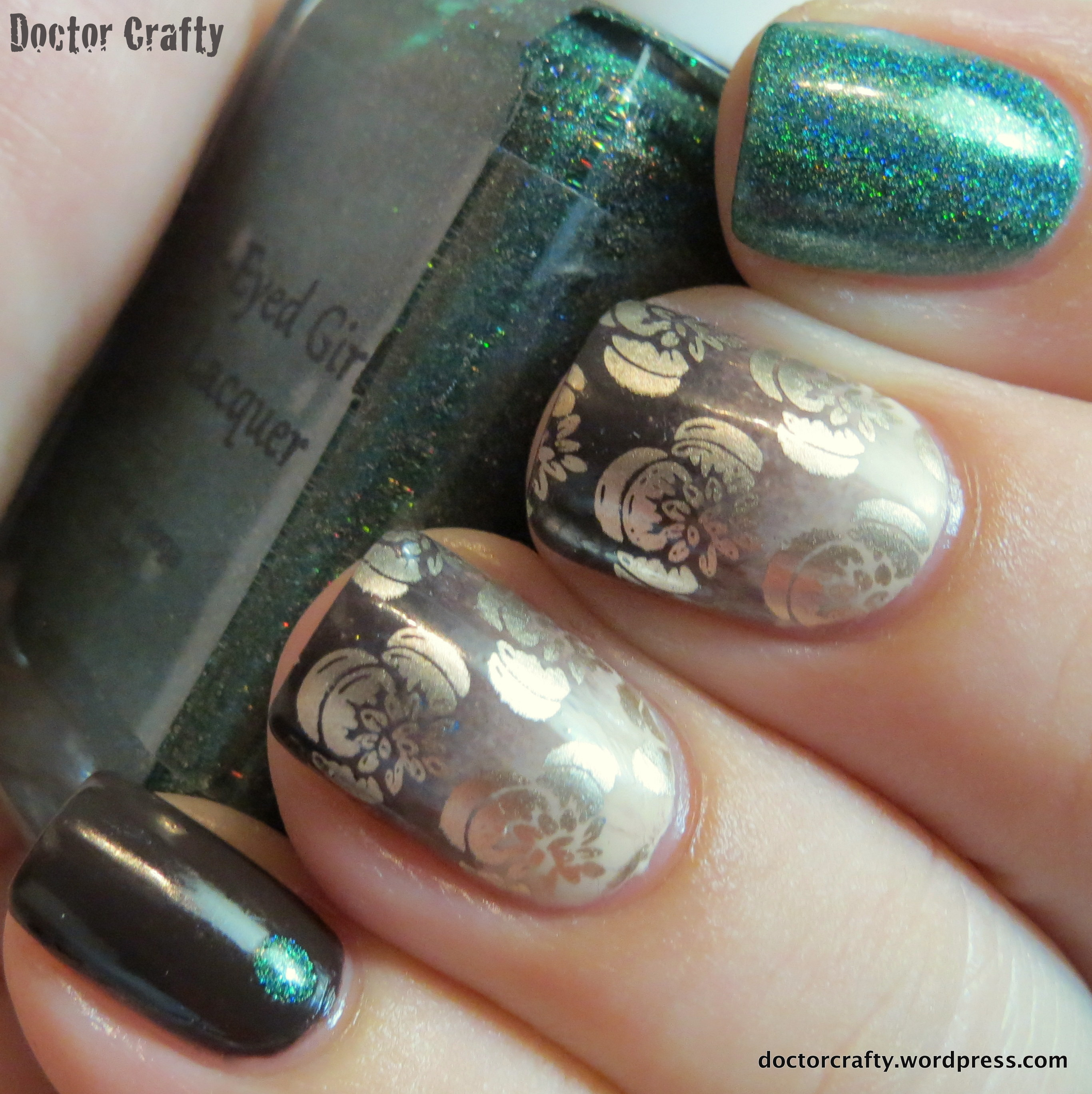 doctor who nail polish | Doctor Crafty