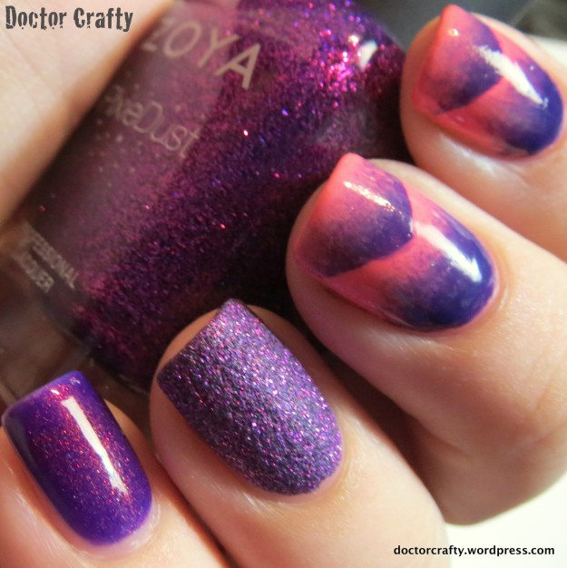 Slightly different lighting - check out the complexity of that textured polish!