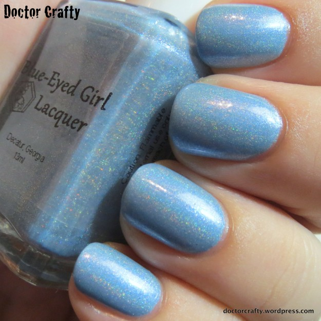 Blue-Eyed Girl Lacquer The Innuendo Squad