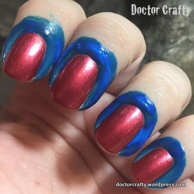Latex Body Paint for Nail Cleanup