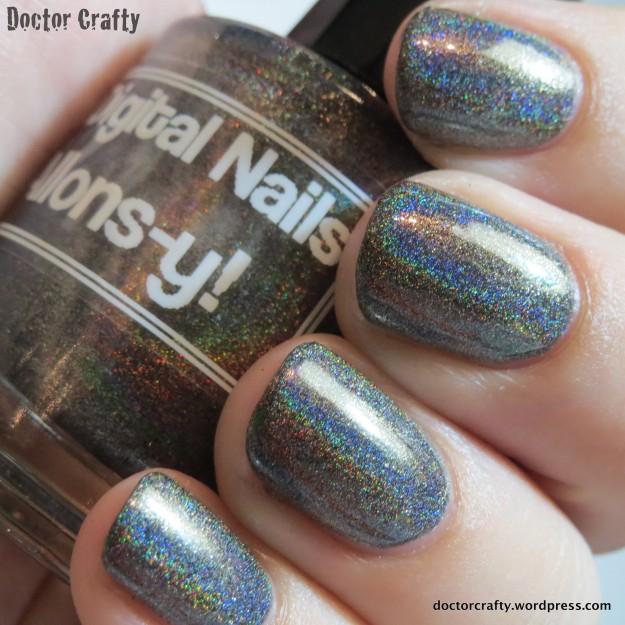 Digital Nails Allons-y!