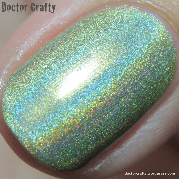 Closeup of KBShimmer Ins And Sprouts