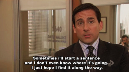 Michael Scott, the office