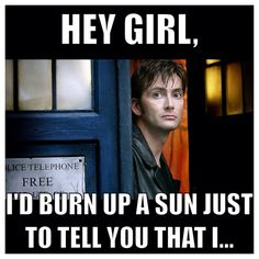 David Tennant, doctor who, billie piper, rose tyler, doomsday, hey girl meme