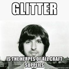 Glitter herpes, demetri martin