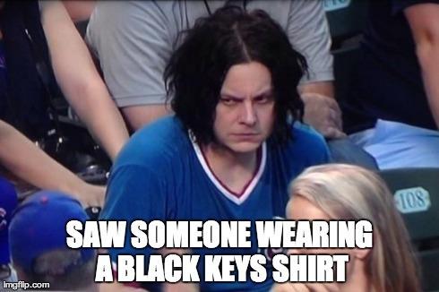 Jack white bitchface meme cubs game