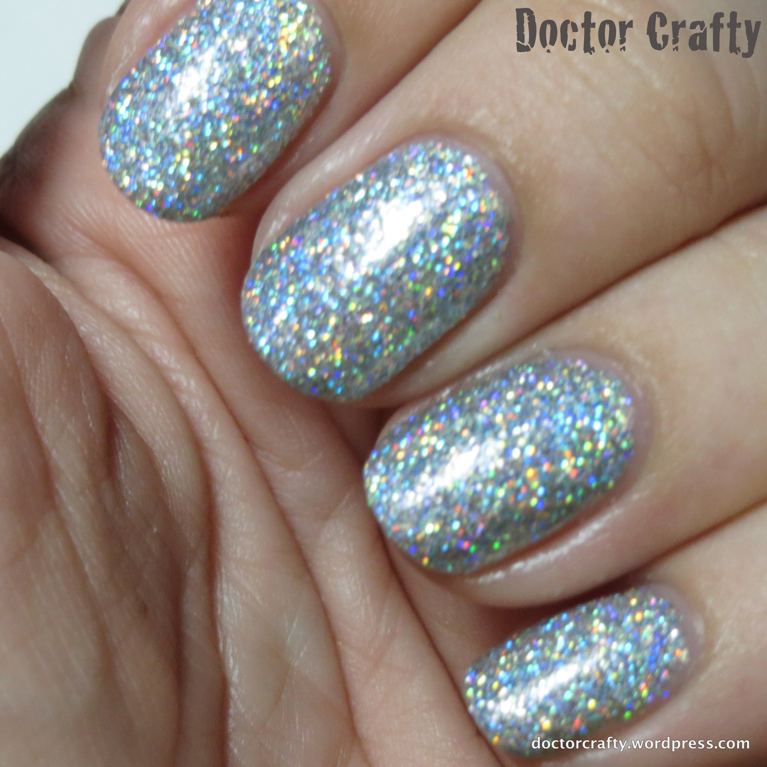 fun lacquer 24 karat diamond | Doctor Crafty