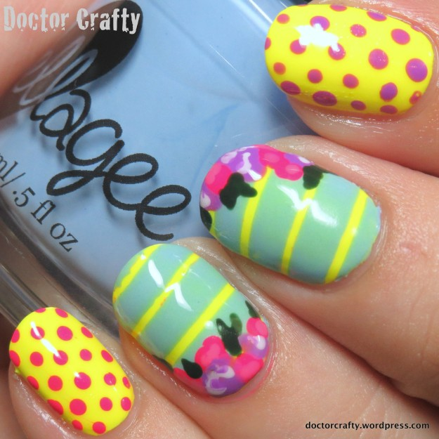 Roses and stripes and dots and neon... oh myyyyy